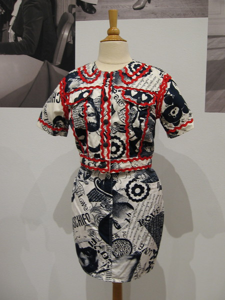 This garment in the museum's collection represents the 1990's, a time when fashion evolved as the internet gained traction, and working from home and globalism began their rise.