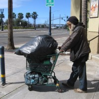 You can help homeless people in San Diego.