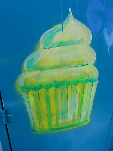 Or a lemon cupcake!