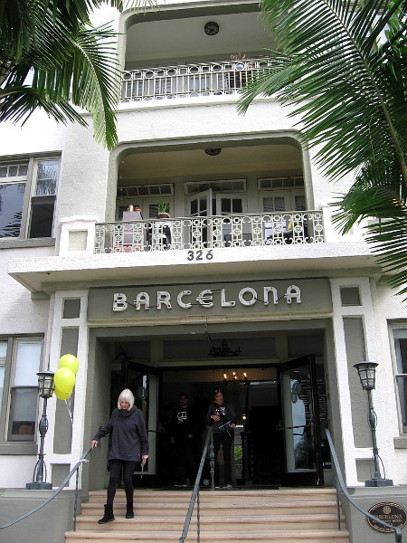The Barcelona is a featured location during the San Diego Architectural Foundation's 2018 OPEN HOUSE event.