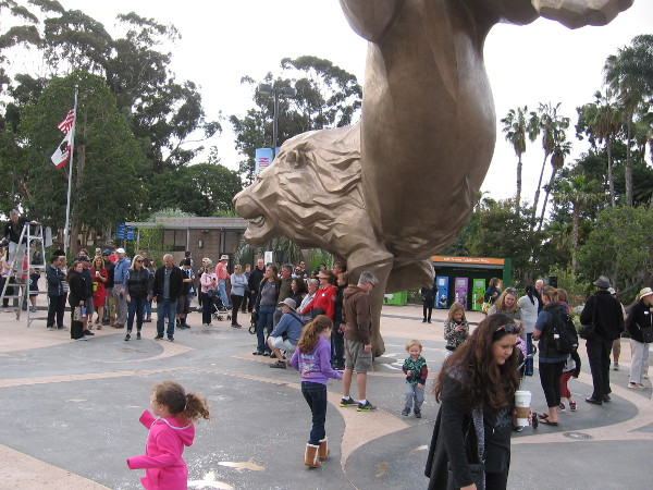 An historic day at the much-beloved San Diego Zoo.
