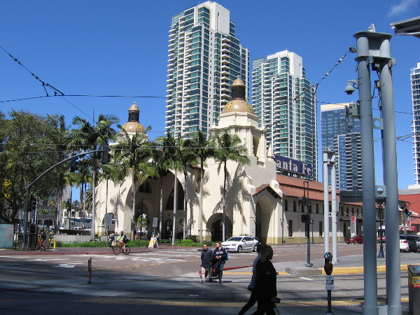 Photo of Santa Fe Depot as it appears today. Big changes to the historic building are likely in its future.