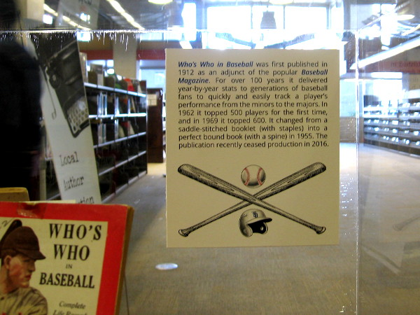 Who's Who in Baseball was first published in 1912. It was a popular reference for professional baseball stats for over a century.