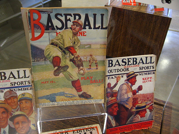 Some classic examples of Baseball Magazine, which was published from 1908 to 1957.