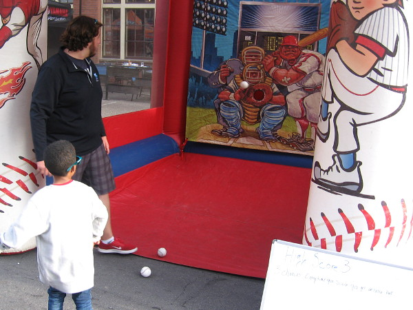 Kid throws a perfect strike!