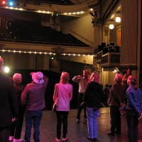 A tour inside the historic Spreckels Theatre.