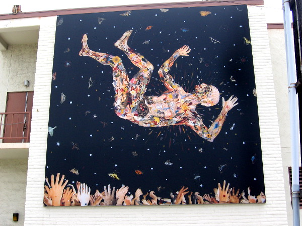 Expecting to Fly (for the Zeros), Fred Tomaselli, 2013.