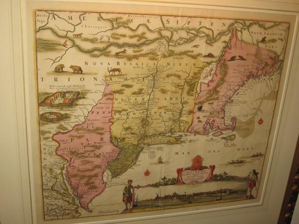 Northeast North America, Jan Jansson and Nicholas Visscher, 1655.