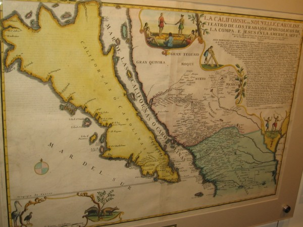California on early maps was depicted as an island.