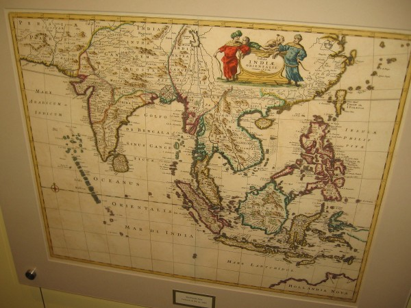 Southern and Southeast Asia, Frederick de Wit, ca. 1680. A standard Dutch published map.