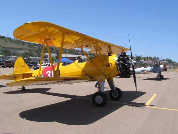 Cool aircraft are displayed during an event at Gillespie Field by Air Group One of the Commemorative Air Force.