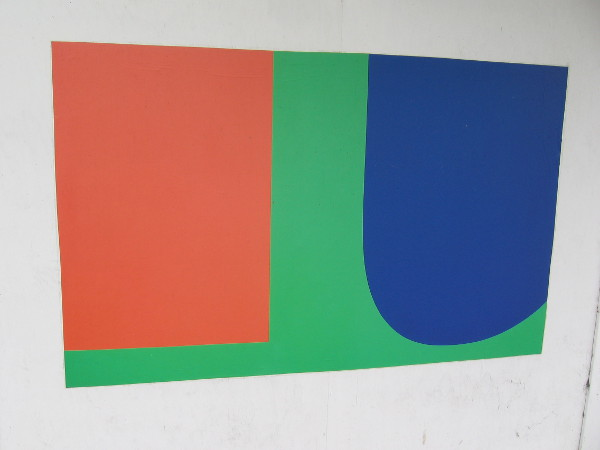 Red Blue Green, Ellsworth Kelly, 1963.