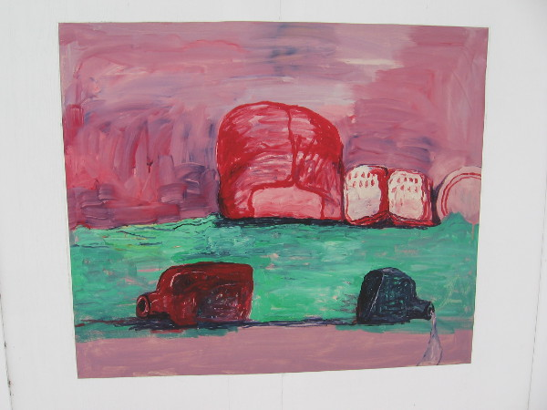 Bottles, Philip Guston, 1977.