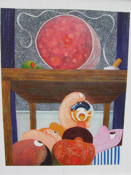Under the Table 2, Nicole Eisenman, 2014.