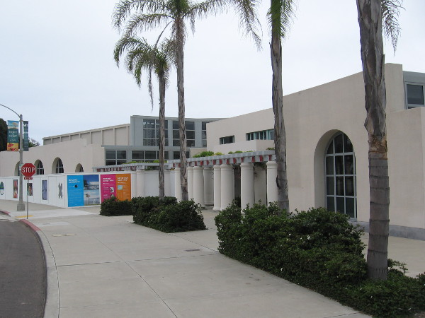 The Museum of Contemporary Art San Diego in La Jolla is currently closed due to the construction.