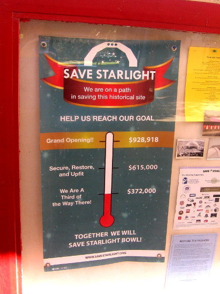 It seems there is now limited time to save the historic Starlight Bowl. If you want to help, please take action and visit savestarlight.org today!
