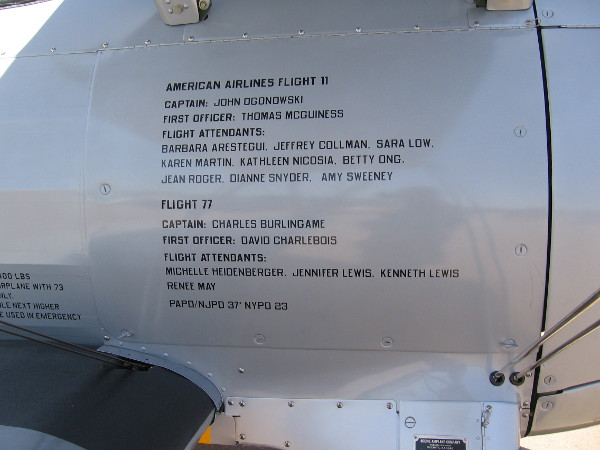 American Airlines Flight 11 and Flight 77.