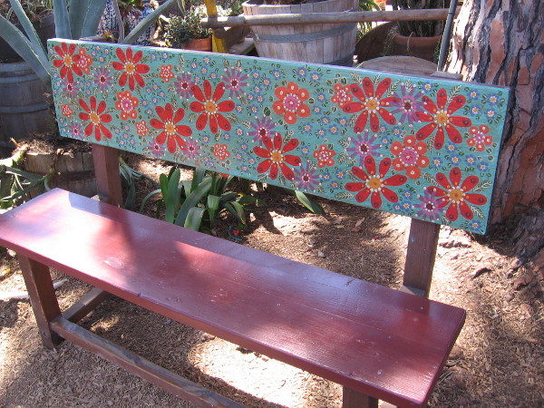 Wouldn't you like to sit on this bench?