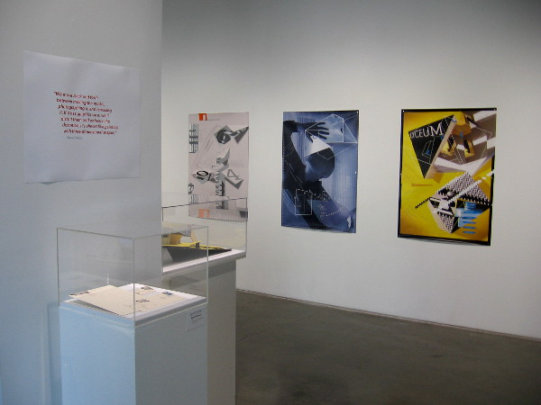 The SDSU Downtown Gallery now has a very cool exhibition concerning poster design.