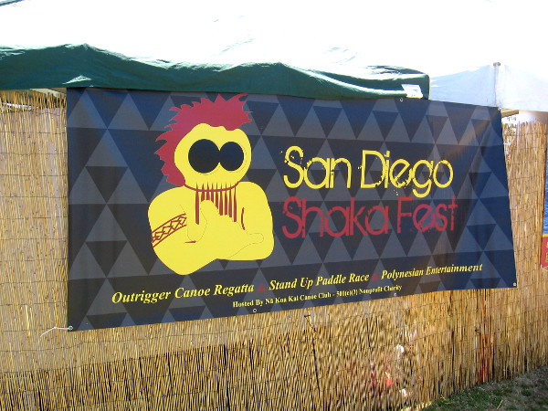 The San Diego Shaka Fest at De Anza Cove is hosted by the Na Koa Kai Canoe Club. There was a outrigger canoe regatta, stand up paddle race and Polynesian entertainment!