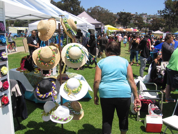 Hundreds of visitors to the event enjoyed entertainment and an assortment of vendors.