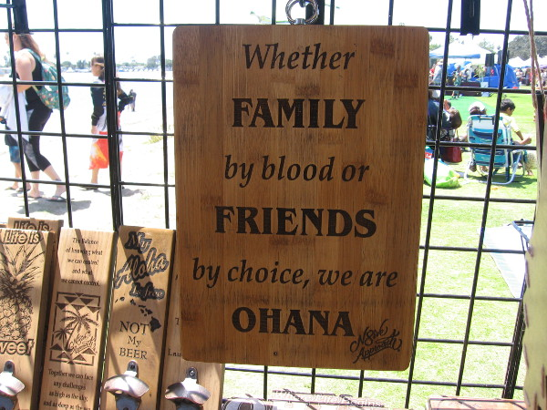 Whether family by blood or friends by choice, we are ohana.