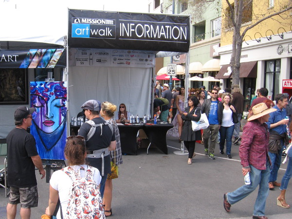 The big annual Mission Federal ArtWalk is a time to relax, enjoy life, and feel creative inspiration.