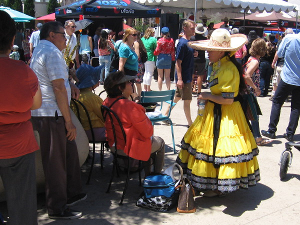The festive 2018 Cinco de Mayo celebration in Balboa Park was the scene of great pageantry and life today!
