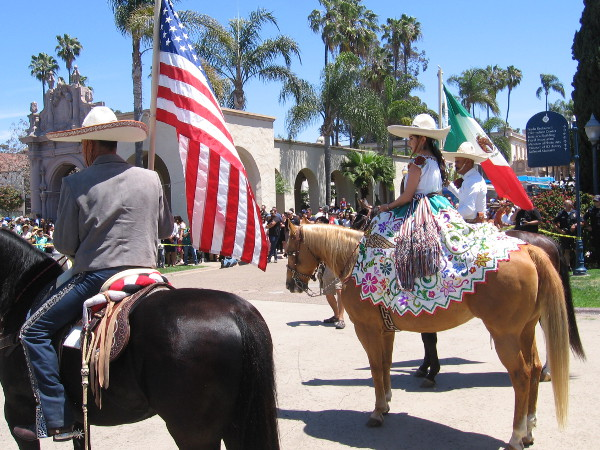 Color and pageantry filled the Plaza de Panama during the 2018 Cinco de Mayo celebration in Balboa Park!