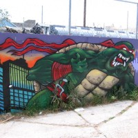 Teenage Mutant Ninja Turtles street art!
