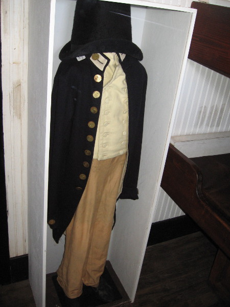 Costume worn by character Midshipman Lord William Blakeney in the movie Master and Commander.