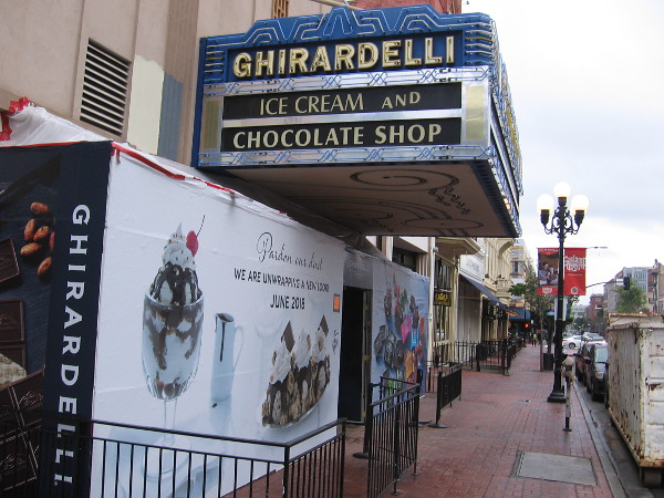 The iconic Ghirardelli Ice Cream and Chocolate Shop will also see various changes.