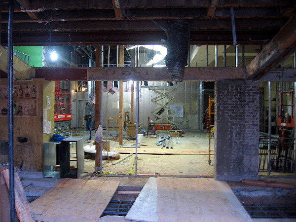 Square footage is being increased and counters repositioned. The interior will be less crowded, more inviting.