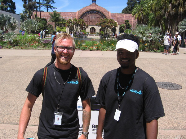 These cool guys with the San Diego Humane Society are looking for lots of animal loving volunteers! That might be you!