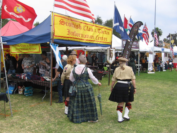 The 45th Annual San Diego Scottish Highland Games gathers the clans and the public together for a weekend of fun at Brengle Terrace Park in Vista.