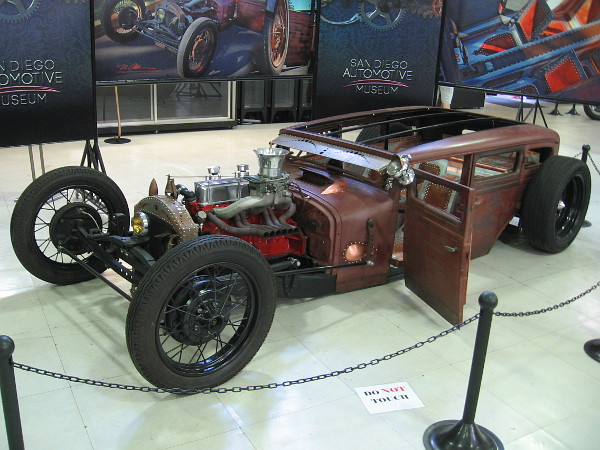 1929 Dodge Brothers Copper Rat, by Jeff Jones. The car has been on the cover of Ol' Skool Rods.