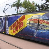 Conan trolley for 2018 San Diego Comic-Con!