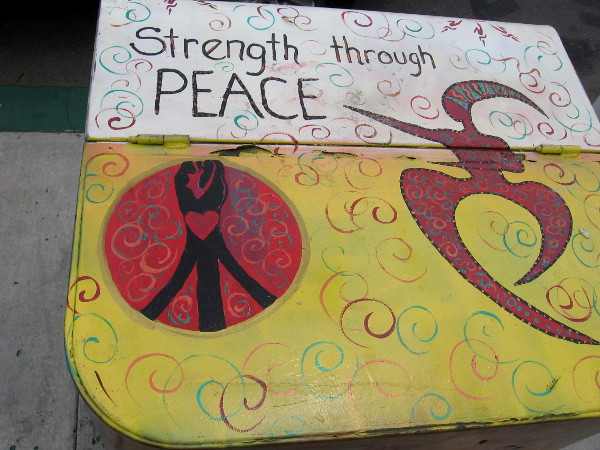 Strength through Peace.
