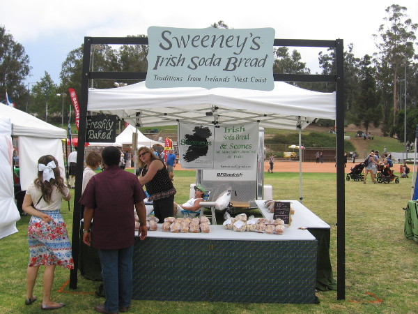 Sweeney's was selling some Irish Soda Bread and Scones, freshly baked!