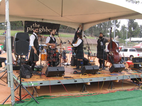 Musicians on the Main Stage include The Ploughboys.