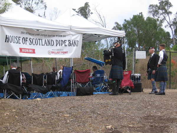 The House of Scotland Pipe Band from Balboa Park joined many other groups from around Southern California for the annual competition.