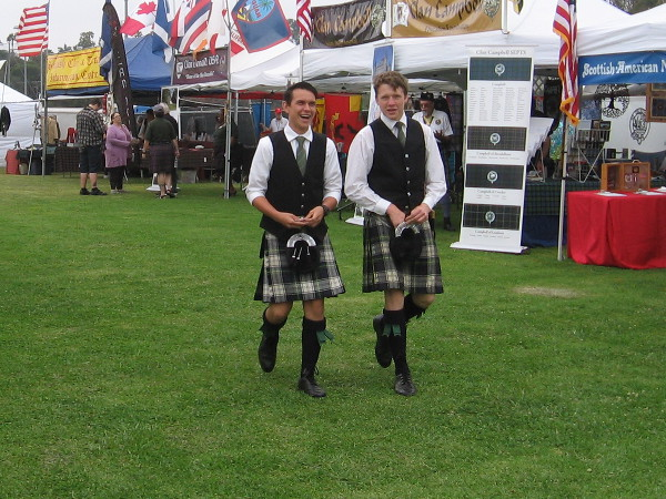 A young generation of Scots keeps history alive at the San Diego Scottish Highland Games.