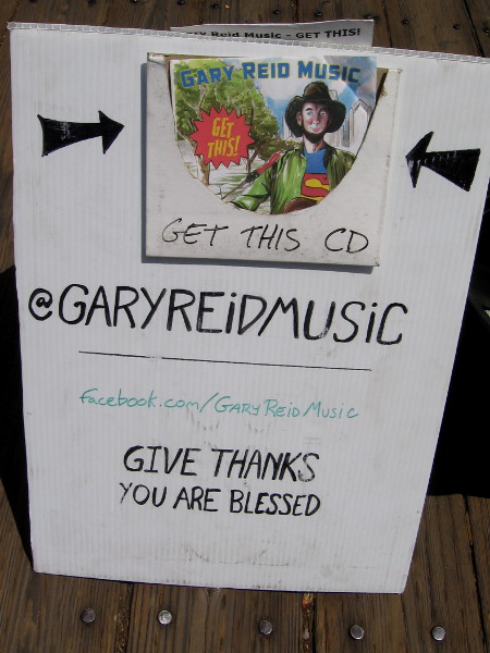 Gary Reid is a fine guitarist, singer and songwriter. Check out his website for some samples!