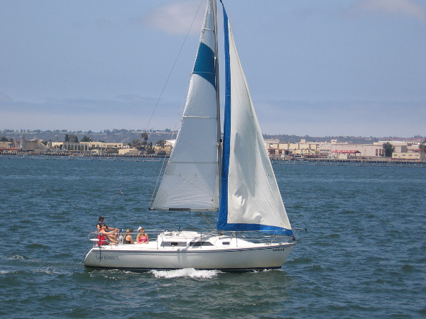 And so does a sailboat.