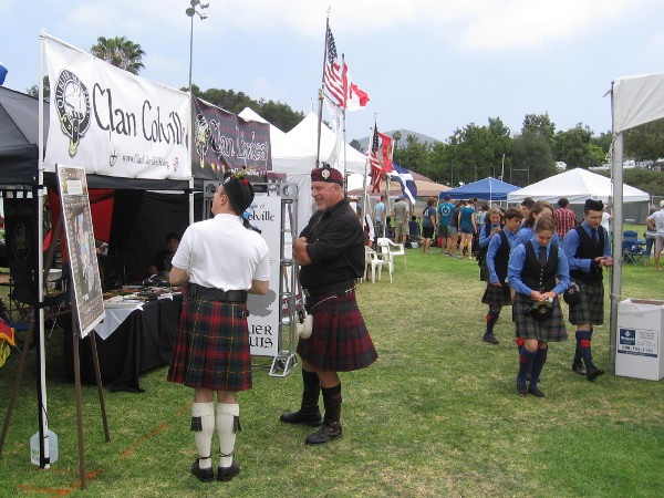 A wonderful time is had at the 45th Annual San Diego Scottish Highland Games.