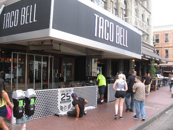 Taco Bell is celebrating the 25th anniversary of the movie Demolition Man.