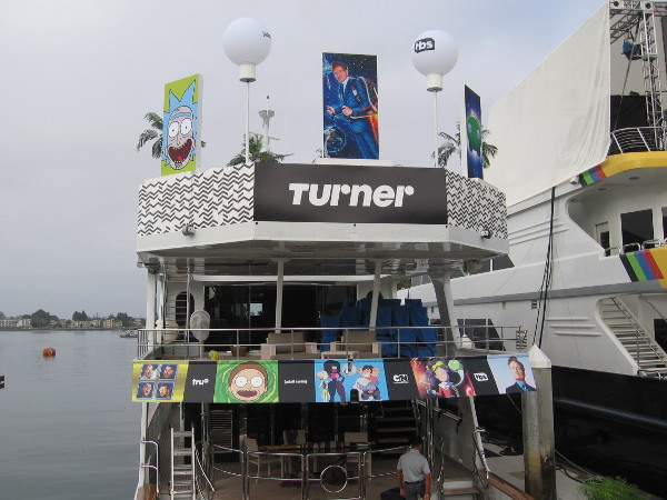 The Turner yacht has docked for 2018 Comic-Con!