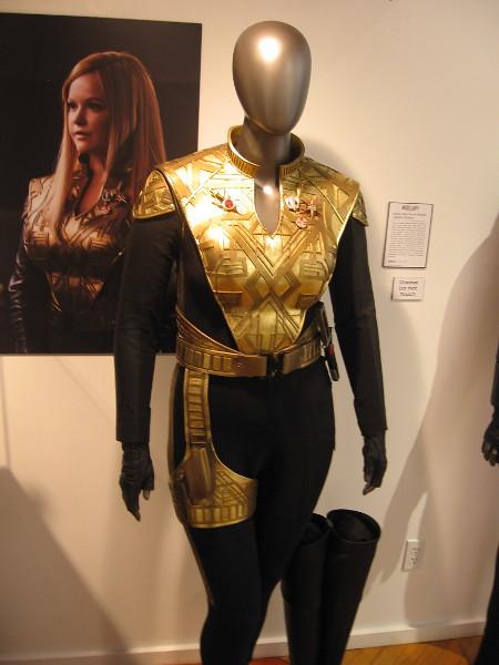 Sylvia Tilly's Terran Empire Captain Uniform.