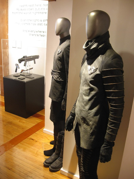 Uniforms of the Resistance are also on display.