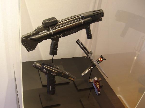 Terran Empire Phaser Rifle, Terran Empire Hand Phaser, Terran Empire Daggers, Terran Empire Hand Agonizer.